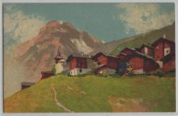 Grimentz - Künstlerkarte - VS Valais