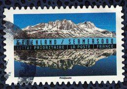 France 2017 Oblitéré Rond Used Reflets Paysages Du Monde Groenland Sermersooq SU - France
