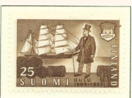 FINLAND  -  1955  Oulu  25m  Mounted/Hinged Mint - Finland