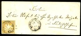 Deutsches Reich Württemberg 1860 Brief Mit Mi 7 (?) - Wuerttemberg