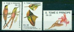 SAO TOMÈ E PRINCIPE 1989 Mi 1112-14** Humming-Birds [L 2367]