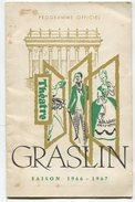 Nantes Théâtre Graslin Programme Officiel Saison 1966-1967 - Programmes