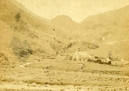 France Pyrenees Cabanes De Tramezaigues Pres De Bagneres De Bigorre Ancienne Photo CDV Andrieu 1870 - Alte (vor 1900)