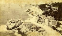 France Marseille Route De La Corniche Prise De La Réserve Roubion Ancienne Photo CDV Neurdein 1870's - Photographs