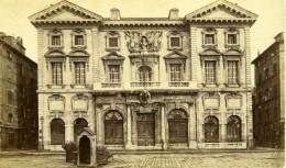 France Marseille Hôtel De Ville Et Guerite Ancienne Photo CDV Neurdein 1870's - Photographs