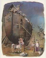 "ILLUSTRATEUR  ILL 164   / HORST  HAITZINGER    ""  L'ARCHE DE NOE   ""  ED    CPM  10 X 15 - Other Illustrators"