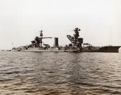 Russie Cuirasse Dreadnought Sebastopol Paris Commune Mer Noire Ancienne Photo 1941
