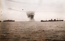 Naufrage Du SS British Security Par Bombardiers Allemands WWII WW2 Ancienne Photo 1941