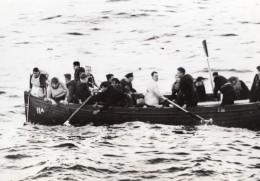 Sauvetage Des Rescapes D'un Naufrage WWII WW2 Ancienne Photo 1941
