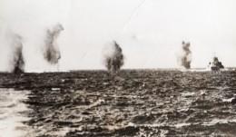 Mer Méditerranée Bombardement Allemand HMS Warspite Ancienne Photo 1941