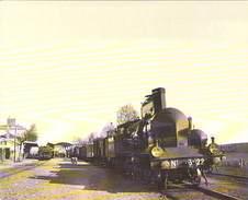 Ligne Des CEVENNES - Langeac Villefort - Alais. Arret Gare 1870 - 1995 - Gares - Avec Trains