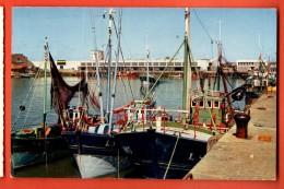 IBG-06 Les Sables D'Olonne  Les Bateaux De Pêche Et Le Centre-marée. Tempon Fromentines, Circulé. - Sables D'Olonne