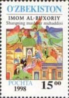 Uzbekistan 1998 Mih. 171 Persian Islamic Scholar Bukhari MNH ** - Usbekistan