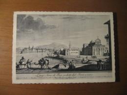 CARTOLINA - LUNG ARNO DI PISA VEDUTA DAL PONTE A MARE III CONGRESSO UNIONE MATEMATICA - B  1575 - Pisa