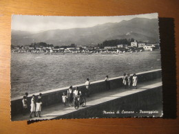 CARTOLINA -  MARINA DI CARRARA PASSEGGIATA ANIMATA  - B  1603 - Carrara