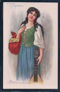 Colombo, Mignon, Femme Brune (16893) - Colombo, E.