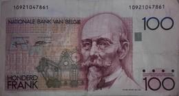 Belgique, 100 Francs Type Beyaert - [ 6] Tesorería