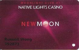 Native Lights Casino - Newkirk, OK - Slot Card - Casino Cards