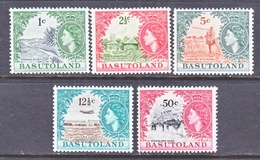 BASUTOLAND  87-91    * - Basutoland (1933-1966)