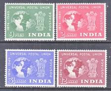 INDIA  223-6   **   U.P.U. - 1947-49 Dominion