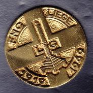 Médaille, FNC LIEGE 1919- 1969, Poids 65gr, Diam 5cm. (OM9) - Andere