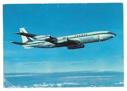 Carte Postale Années 80 Avion Boeing 707 B - 1946-....: Era Moderna