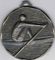 Grosse Médaille  Aviron  55 Mm X 5 Mm  CMS   Marignane  1979 - Aviron