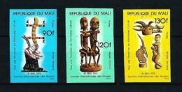 Malí  Nº Yvert  327/9 SIN DENTAR  En Nuevo - Malí (1959-...)