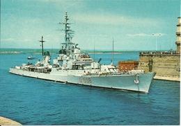 """Cacciatorpediniere """"Impetuoso"""", D 558, In Entrata Nel Porto Di Taranto, Marina Militare Italiana - Guerra"""