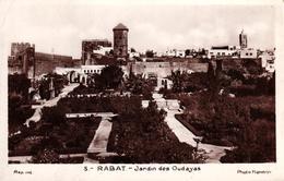 MAROC - RABAT - JARDIN DES OUDAYAS - Rabat