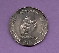 INDIA - 2 Rupia 2003 KM307 - Inde