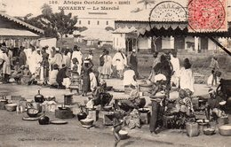 AFRIQUE OCCIDENTALE GUINEE FRANCAISE KONAKRY LE MARCHE BELLE ANIMATION - Frans Guinee