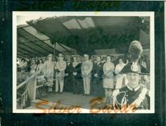 TRIESTE-ARTIGLIERIA-LOTTO 18 FOTO FORMATO CARTOLINA-FESTA ARMA ARTIGLIERIA 15/6/1969-PRESENTE GEN.PAOLO EMANUELE - Reggimenti