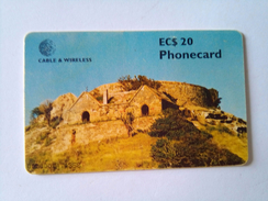 Antigua Phonecard EC $10 Chip Card Used