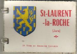 D39  ST LAURENT LA ROCHE   ......... Petit Carnet D'images 6 X 9 Cm ............. Avec 7 Photos - Altri Comuni