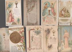 LOT DE 9 Images Religieuses En Couleur  (anciennes) (PPP4455) - Devotion Images