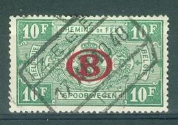 """BELGIE - OBP Nr TR 231 - Cachet   """"IZEGEM Nr 3"""" - (ref. 11.485) - Chemins De Fer"""