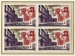 ESPAÑA 1977 - PLAZA MAYOR DE MADRID - EDIFIL Nº 2415** EN BLOQUE DE 4 - Timbres Sur Timbres