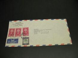 Jordan 1962 Airmail Cover To Sweden Fold *22904 - Jordan