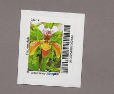 Privatpost - Biberpost - Blumen - Frauenschuh Blüte - Orchideen