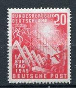 BRD Nr.112    *  Unused   (9663)  (Jahr:1949) - [7] Repubblica Federale