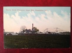 LA PLAQUEMINE Myrtle Grove Plantation Sugar Mill - Etats-Unis