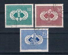 DDR 1960 Schach Mi.Nr. 786/88 Kpl. Satz Gest. - DDR