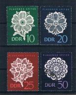 DDR 1966 Plauener Spitze Mi.Nr. 1185/88 Kpl. Satz Gest. - DDR
