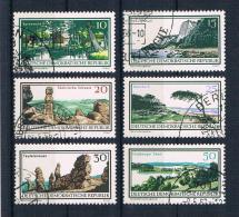 DDR 1966 Natur Mi.Nr. 1179/84 Kpl. Satz Gest. - DDR