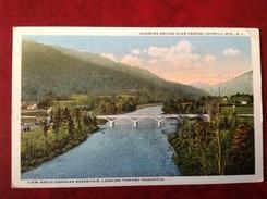 NY Showing Bridge Over Esopus CATSKILL Mts - Catskills