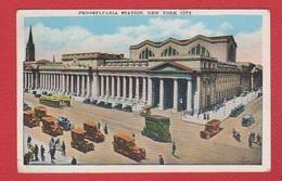 New York  --  Pennsylvania Station - Autres Monuments, édifices