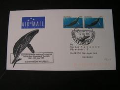 AU Cv. Fische 1998,  Whale SST M - Inseln , Antarctic Research - Briefe U. Dokumente