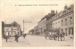 Dépt 59 - MARCQ-EN-BAROEUL - Rue Nationale (route De Lille) - Estaminet A. Bridelance - Marcq En Baroeul