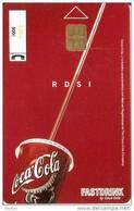 P-483 TARJETA COCA-COLA DE TELEBARNA 2001 Y TIRADA 8000   (COKE) - Publicidad